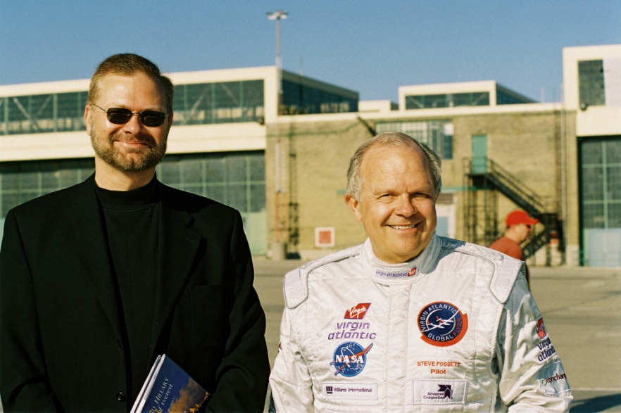 Steve Fossett and Joseph S. Frey (Steer, Ian, Explorer's Journal, Vol. 3, 2005)