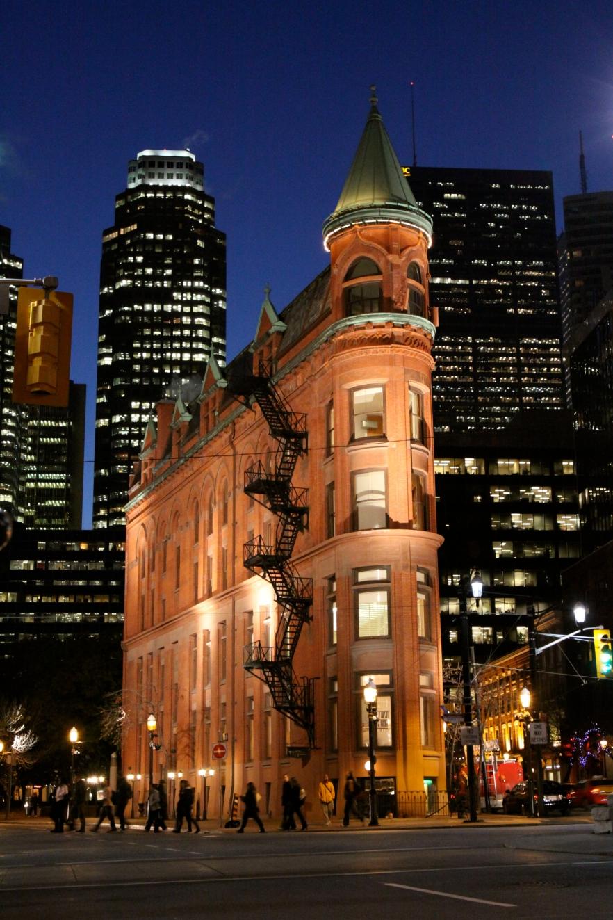 Toronto's Gooderham Flatiron Building Illuminated (Steer, Ian, Toronto Sun, Nov. 9, 2009, p. 6)
