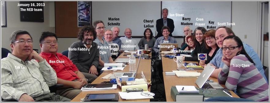The NED Team (Steer, Ian, various, Jan. 16, 2013)